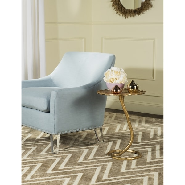 Safavieh Justina Gold Side Table
