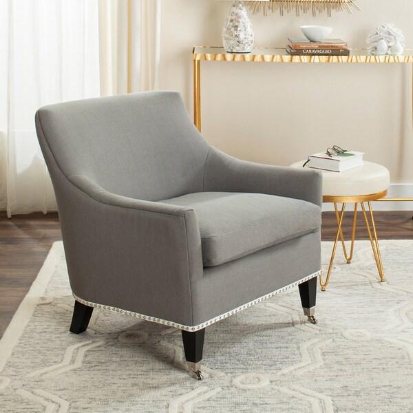 Safavieh Barlow Granite Arm Chair