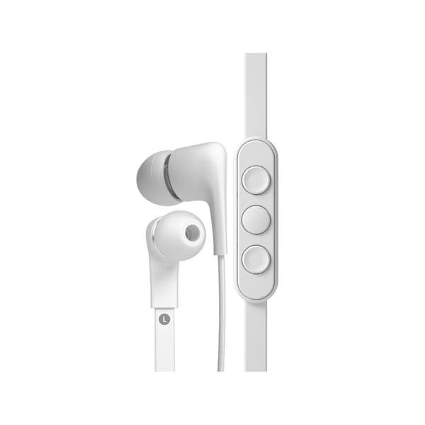 Jays T00096 a-Jays Five Earphones for iOS - White