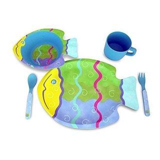 Culina Kids Fish 5-piece Dinnerware Set