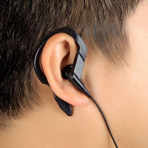 Insten Black 3.5-mm Earphones with Ear Hooks