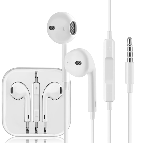 Apple White OEM Earpods with Remote and Microphone MD827LL/ A (A)