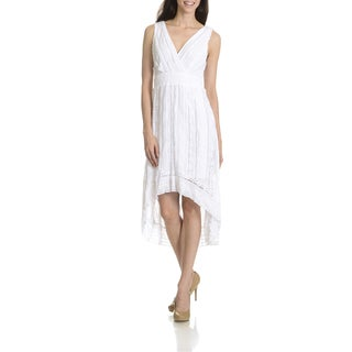 Rabbit Rabbit Rabbit Women's Lace High-Low Dress