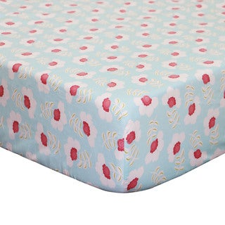 The Peanut Shell Mila Fitted Crib Sheet