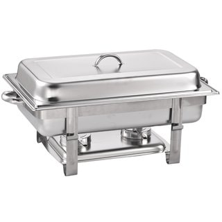 Cook N Home Stainless Steel Chafer Full Size 8-quart Chafing Dish