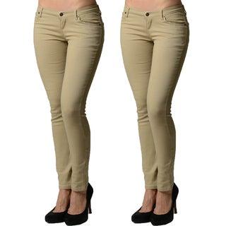 Dinamit Juniors 5 Pocket Skinny Uniform Pant (2 Pack)