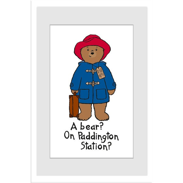 Marmont Hill 'A Bear?' Paddington Bear by Peggy Fortnum Painting Print on Frame Print