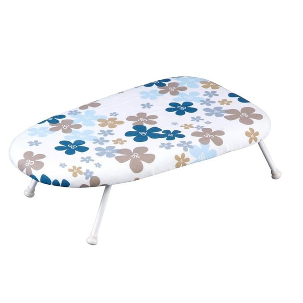 Sunbeam Table Top Ironing Board With Removable Flower Cover