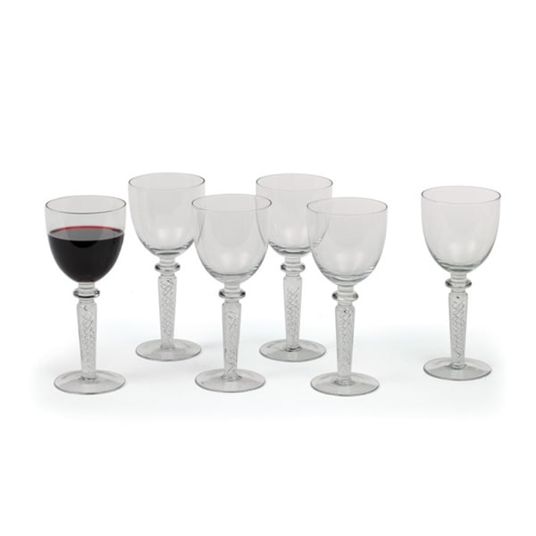 Double Helix Red Wine Glasses