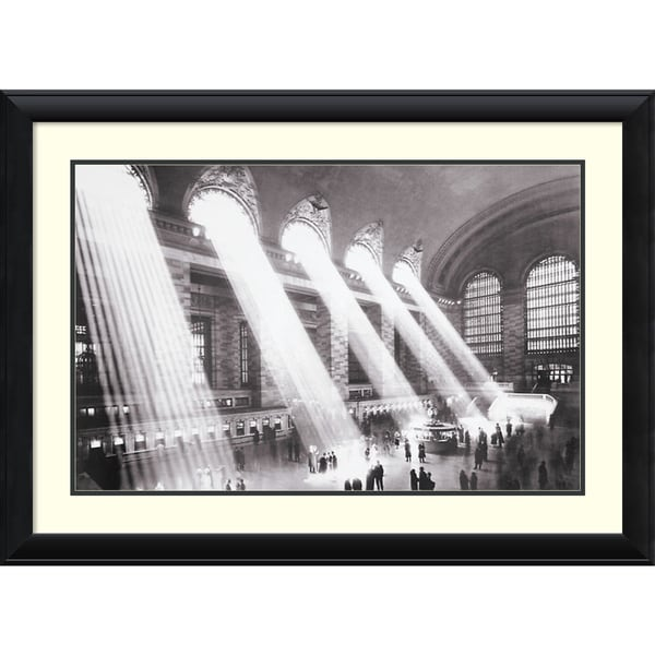 Hulton 'Grand Central Station, New York, 1934' Framed Art Print 40 x 29-inch