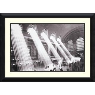 Hulton 'Grand Central Station, New York, 1934' Framed Art Print 40 x 29-inch