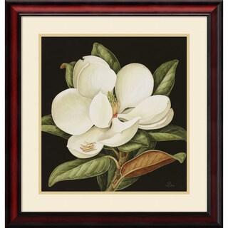 Jenny Barron 'Magnolia Grandiflora, 2003' Framed Art Print 24 x 25-inch