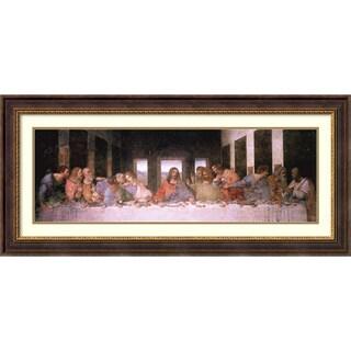 """Leonardo da Vinci """"The Last Supper"""" (Detail) Framed Art Print"""