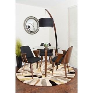 Verdana Mid Century Modern Chair in Walnut Wood