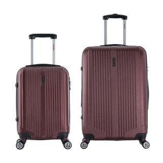 InUSA San Francisco 2-piece Lightweight Hardside Spinner Luggage Set