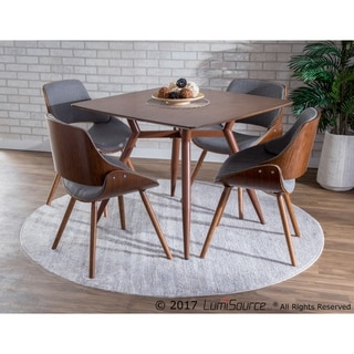 Fabrizzi Walnut Mid-century Modern Chair