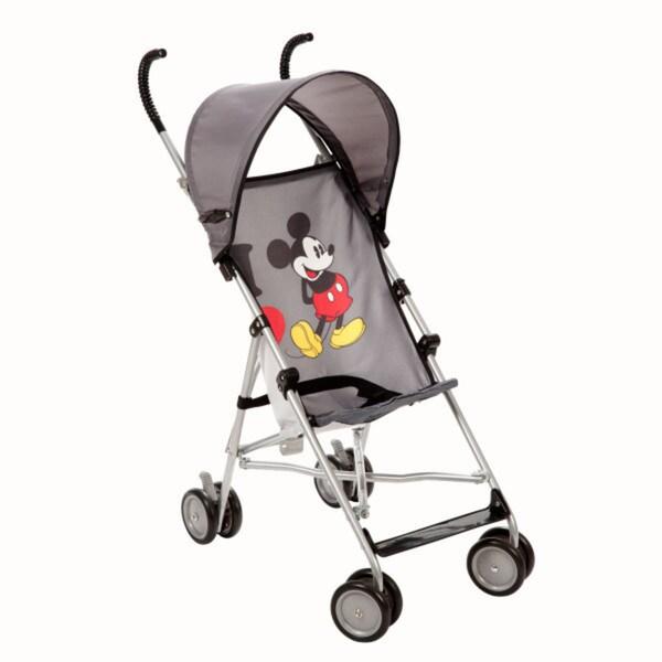 Disney Umbrella Stroller with Canopy in I Heart Mickey