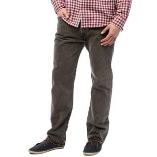 Levi's 501 Men's Grey Straight Leg Jeans