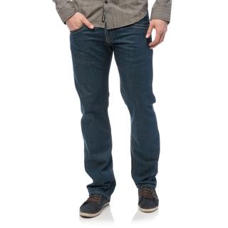Levi's 504 Men's Blue Regular Straight Fit Jeans