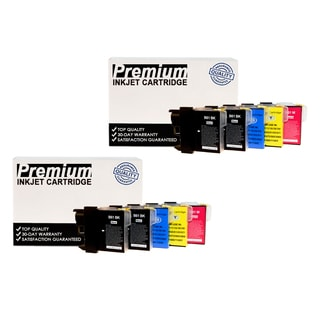 10 PACK Compatible Brother LC61 KKCYM InkJet Cartridge Set COMBO