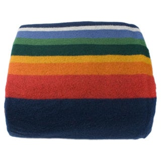Pendleton 50750 Crater Lake Rainbow Pattern Queen-sized Blanket