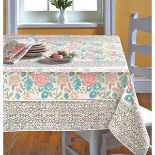 TAG Spring Floral Tablecloth