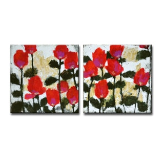 Ready2HangArt 'Heartbeats I/II' by Norman Wyatt Jr. 2-PC Canvas Art Set