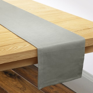 Grand Luxe Made in the USA Linen Table Runner