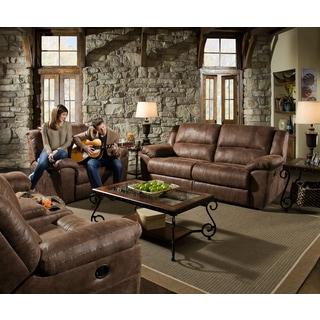 Simmons Mocha Phoenix Double-motion Sofa