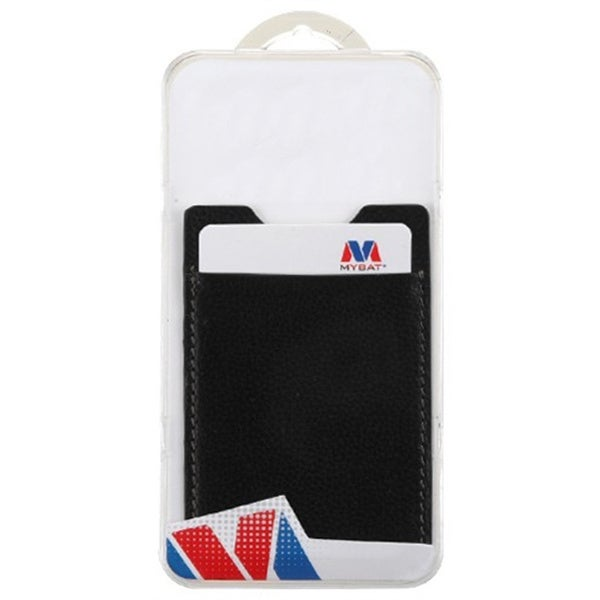 My Bat Genuine Leather Adhesive Card Pouch for Phone Case