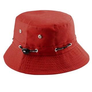 Zodaca Unisex Men Women Cotton Summer Outdoor Beach Fishing Bucket Hat