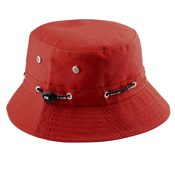 Zodaca Unisex Men Women Cotton Summer Outdoor Beach Fishing Bucket Hat