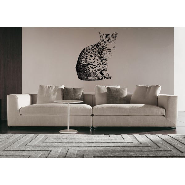 Egyptian Mau Cat Breed Wall Art Sticker Decal