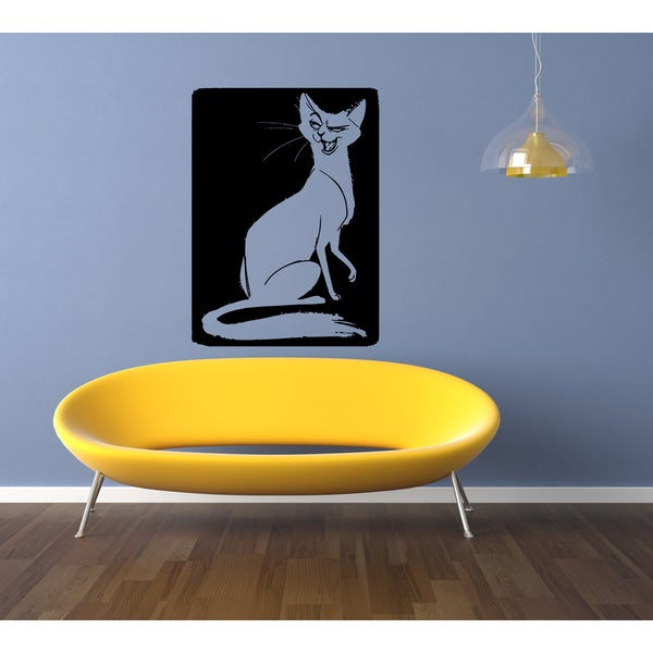 Japanese Bobtail Cat Breed Picture Wall Art Sticker Decal