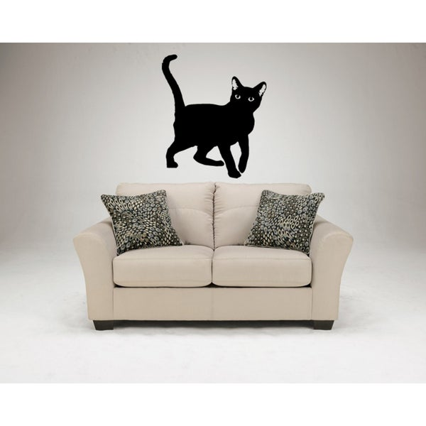 Havana Brown Cat The black Wall Art Sticker Decal