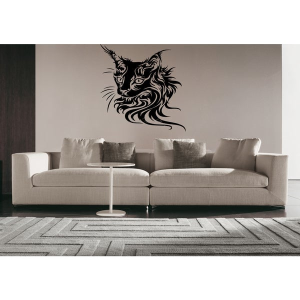 Favorite Maine Coon Cat Wall Art Sticker Decal