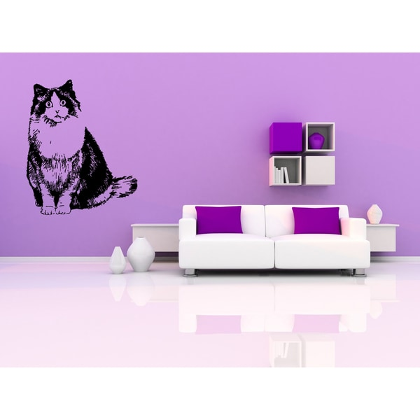 Ragdoll Cat Breed Wall Art Sticker Decal