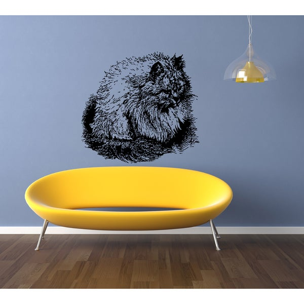 Persian Cat Breed favorite Wall Art Sticker Decal