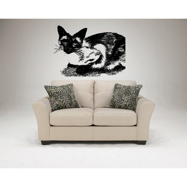Siamese Cat Breed Picture Wall Art Sticker Decal