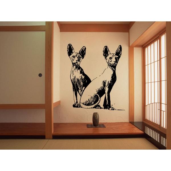 Favorite Sphynx Cat Breed Cat Kitten Wall Art Sticker Decal