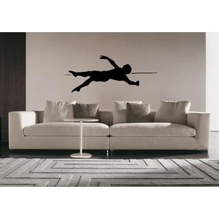 Perfect Swimming Pool Man Backstroke Wall Art Sticker Decal