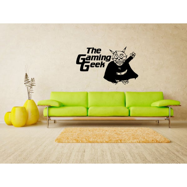 The Gaming Geek devils Wall Art Sticker Decal