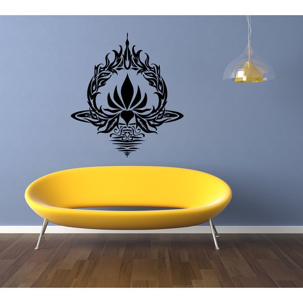 Vinyasa Yoga Synchronized Flow Wall Art Sticker Decal