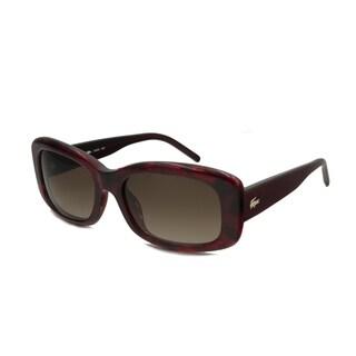 Lacoste Women's L665S Rectangular Sunglasses