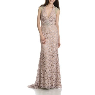 MacDuggal Women's Lace Evening Gown