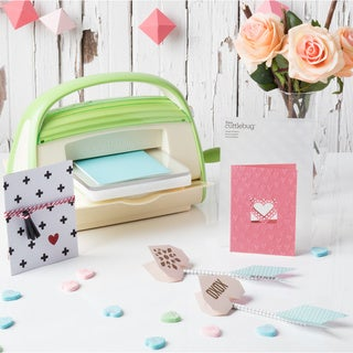 Cricut Cuttlebug V2 Embossing and Die Cutting Machine with Damask Frame Dies and Folders Combo