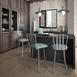 Amisco Station Metal And Wood Barstool 17741457
