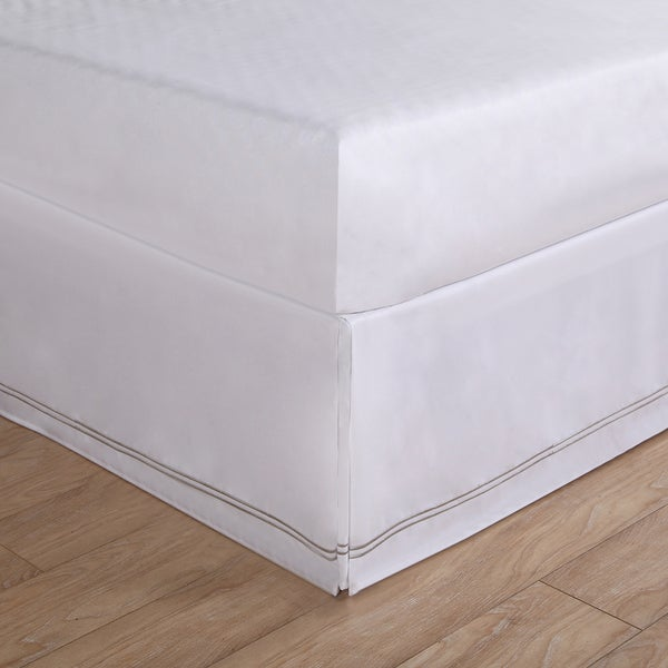 Baratta Stitch Embroidery Bed Skirt