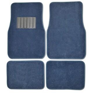 Premium Carpet Blue Mats (Set of 4)