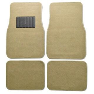 Premium Carpet Tan Mats (Set of 4)